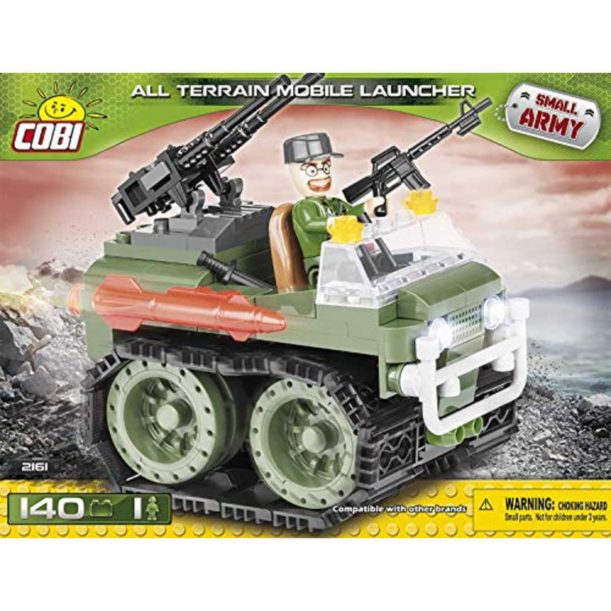 5902251021610-140-pcs-small-army-2161-all-terrain-mobile-launcher