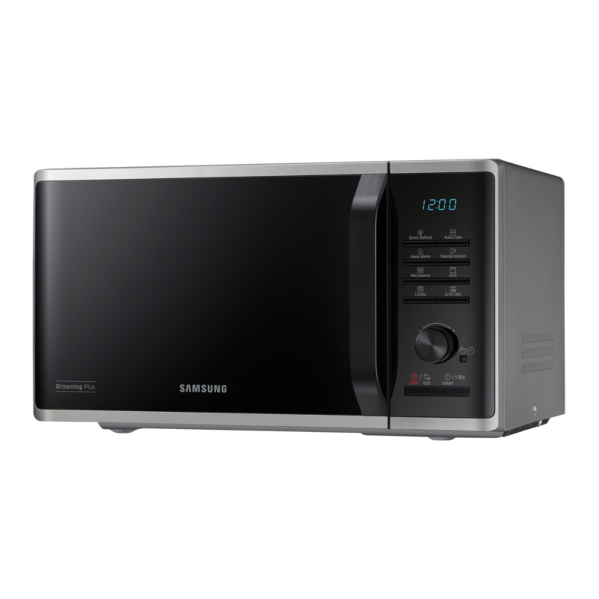 Samsung MG23K3515AS forno a microonde Superficie piana Microonde con grill 23 L